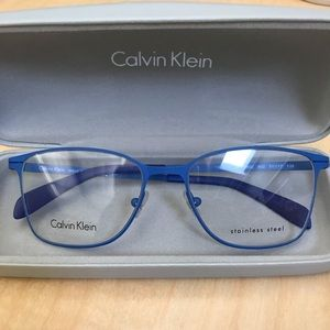 Calvin Klein Blue Optical Frames - NEW!